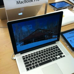 Photo taken at Apple Store, Providence Place by Oge M. on 6/19/2012