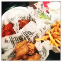 Photo taken at Wingstop by Abby F. on 5/5/2012