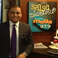 Photo taken at La Mega sbs radio by Jason G. on 2/7/2012