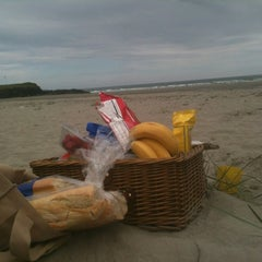 Photo taken at Inchydoney Beach by Angela F. on 6/10/2012