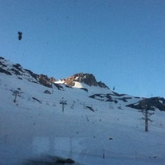 Photo taken at Tignes by Adam D. on 3/16/2012
