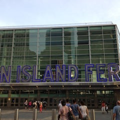 Photo taken at Staten Island Ferry - St. George Terminal by Walter R. on 7/7/2012