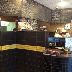 Photo taken at Joe's Panini by Isa on 9/10/2012