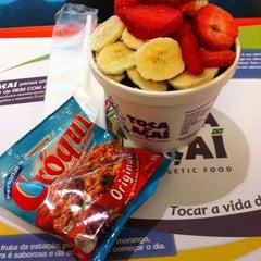 Photo taken at Praça de Alimentação by Pedro V. on 8/21/2012