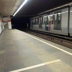 Photo taken at Metrostation Delfshaven [A, B, C] by Martijn K. on 6/27/2012