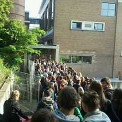 Photo taken at De Therminal, UGent by Justijn D. on 5/19/2012