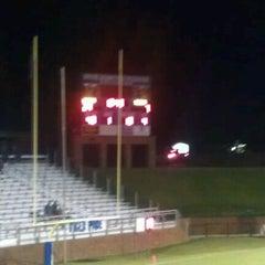 Photo taken at Duck Samford Stadium by Justin W. on 8/24/2012