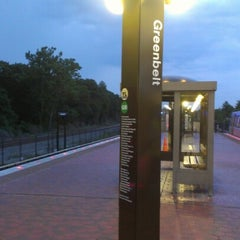 Photo taken at Greenbelt Metro Station by Christopher D. on 7/4/2012
