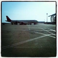 Photo taken at Dabolim Goa International Airport (GOI) by Schmmuck on 5/6/2012