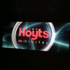 Photo taken at Cine Hoyts by 🎧 Yovi S. on 4/29/2012