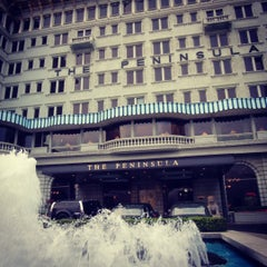 Photo taken at The Peninsula Hong Kong 香港半島酒店 by Aprilider on 6/11/2012
