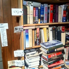 Photo taken at Capitol Hill Books by Brian F. on 6/24/2012