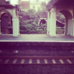 Photo taken at Croydon Station by 希冰 on 6/8/2012