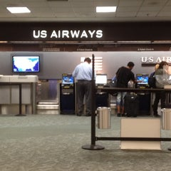 Photo taken at US Airways Ticket Counter by Javier F. on 3/5/2012