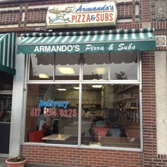 Photo taken at Armando's Pizza & Subs by Nicholas D. on 2/8/2012