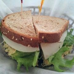 Photo taken at Upper Crust Bakery by Nicholas N. on 2/21/2012