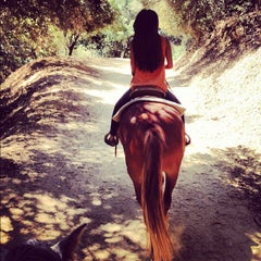 Photo taken at Diamond Bar Stables by Hyunah L. on 8/18/2012