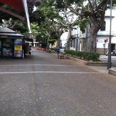 Photo taken at Ramblas de Santa Cruz by Nan P. on 5/20/2012