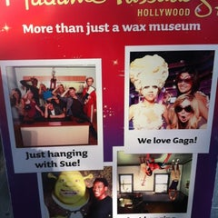 Photo taken at Madame Tussauds Hollywood by Omowale J. on 7/31/2012