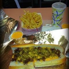 Photo taken at Ishkabibble's Eatery by Brandi S. on 6/5/2012