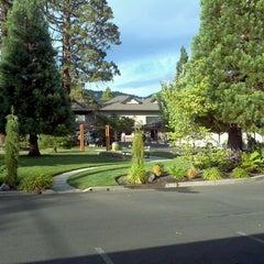Photo taken at Redwood Motel by Lee G. on 8/27/2012