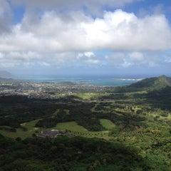 Photo taken at Nuʻuanu Pali Lookout by Steve G. on 2/20/2012