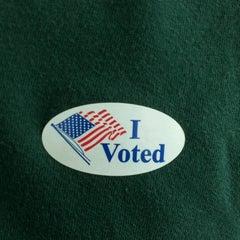 Photo taken at Bostian Crossroads Voting Precinct by Ken S. on 5/8/2012