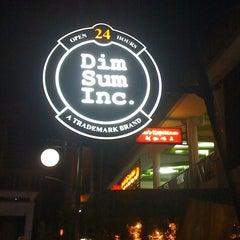 Photo taken at Dim Sum Inc. by Adjie N. on 3/22/2012