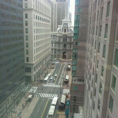 Photo taken at Philadelphia Marriott Downtown by Rob S. on 3/20/2012