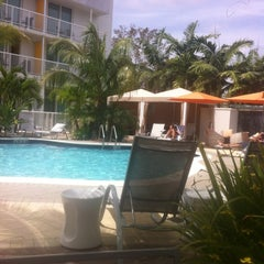 Photo taken at Hotel Urbano at Brickell by Diego B. on 3/25/2012