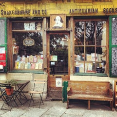 Photo taken at Shakespeare & Company by John R. on 6/10/2012
