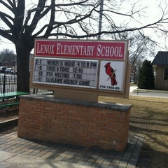 Photo taken at Lenox Elememtary School by Laura H. on 2/19/2012