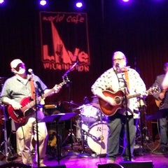 Photo taken at World Cafe Live at the Queen by Jimmer S. on 5/12/2012