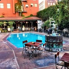 Photo taken at Hotel Figueroa by Daniel M. on 3/21/2012