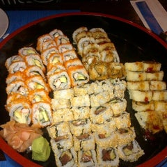 Photo taken at Sumo Sushi & Bento, Garhoud by Tariq A. on 9/10/2012