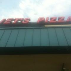 Photo taken at Jets Pizza by Tony D. on 6/28/2012