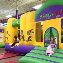 Photo taken at Monkey Joe's by Melissa P. on 2/10/2012