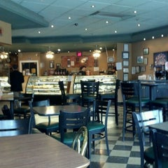 Photo taken at Biscotti Cafe & Gelateria by Rita B. on 4/22/2012