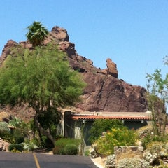 Photo taken at Sanctuary Resort on Camelback by Andy M. on 5/20/2012