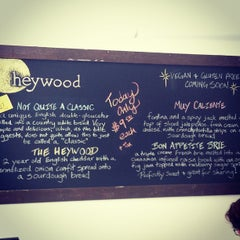 Photo taken at Heywood - A Grilled Cheese Shoppe by Luis M. on 5/26/2012