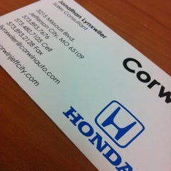 Photo taken at Corwin Hyundai by Jonathan At C. on 2/10/2012