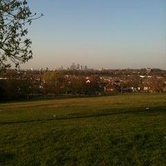 Photo taken at Blythe Hill Fields by Amba F. on 3/28/2012