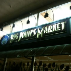 Photo taken at Big John's Market by Matthew M. on 3/23/2012
