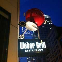 Photo taken at Weber Grill Restaurant by Tom O. on 3/13/2012