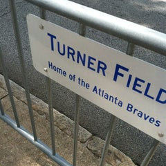 Photo taken at Turner Field - Gold Lot by Lauren F. on 9/1/2012