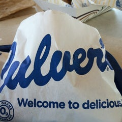 Photo taken at Culver's by Marie-Anne S. on 7/1/2012