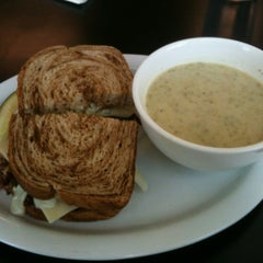 Photo taken at Compass Star Cafe & Wine Bar by Dennis F. on 5/21/2012