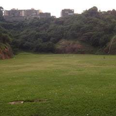 Photo taken at La Cinta Golf driving range by Luis D. on 7/1/2012