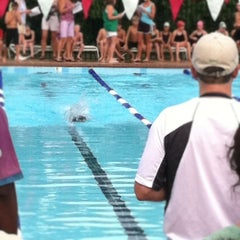 Photo taken at Indian Lakes Stingrays Swim Team by Dawn V. on 7/28/2012