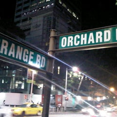 Photo taken at Orchard Road by Andy D. on 7/27/2012